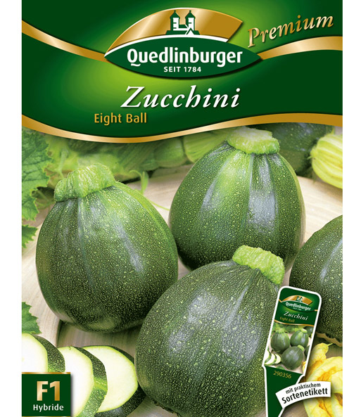 Courgette 'Eight Ball' F1