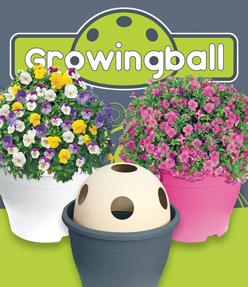 Growing Ball® 'antraciet'