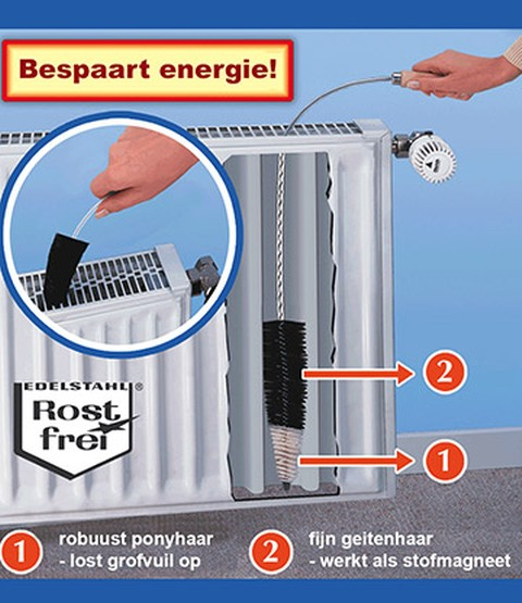 Radiatorborstel 'Superflex'