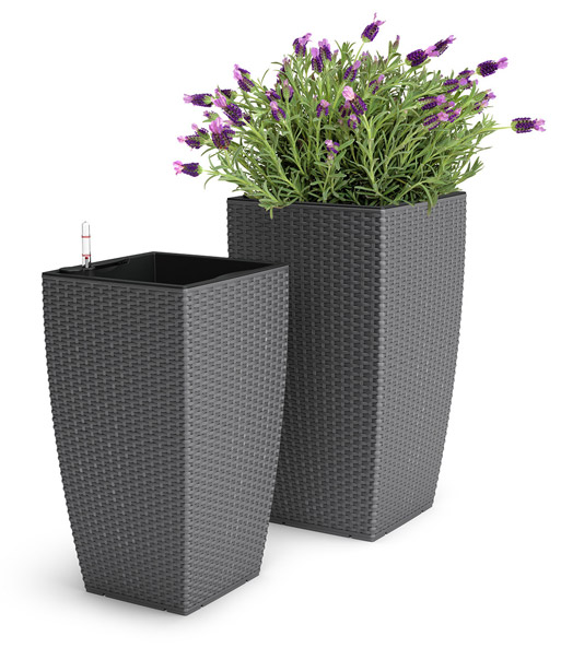 emsa casa mesh bloemenzuil 58 cm ho bloempotten bij. Black Bedroom Furniture Sets. Home Design Ideas